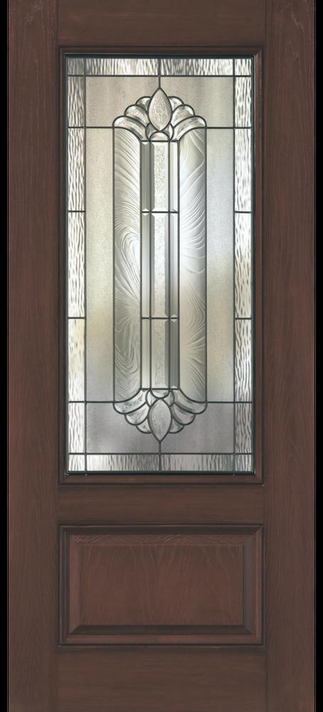 1-Panel 3/4 Light